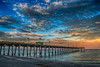 Sharky's Pier at Sunrise (DonMiller_ToGo) Tags: cloudsonfire hdr cloudporn sunrise 3xp hdrphotography pier clouds sky d5500 goldenhour outdoors sharkys florida