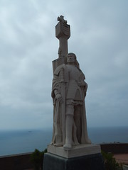 El Cabrillo Monument (Rubén HPF) Tags: san diego sunset ocean pacific beach tide pool cabrillo gaslamp quarter santa fe depot trolley