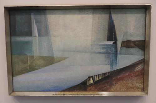 """""""Regamundung"""", 1929-30, Lyonel Feininger (1871-1956), Musée des Beaux-Arts, Hambourg, Allemagne."""