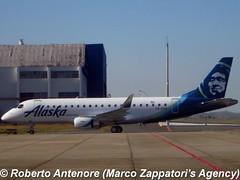 Embraer E-175 (E-170-200/LR) (Marco Zappatori's Agency) Tags: embraer e175 horizonair alaskaairlines predo robertoantenore marcozappatorisagency