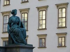 Magic hour reflection (rockyenta) Tags: vienna austria reflection windows palace