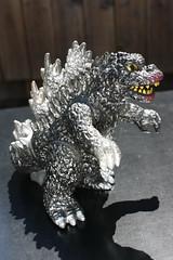 Attacking Godzilla (Popy 1978) (Donald Deveau) Tags: godzilla popy toho japanesetoy japanesemonster attackinggodzilla vintagetoy vinyl actionfigure toys toyphotography