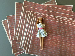 4. Multiples (Foxy Belle) Tags: brick paper photocopy reduce tutorial how diy craft make barbie scale 16 playscale behind scenes