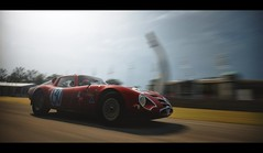 Alfa TZ2 Zagato (Thomas_982) Tags: cars auto gt5 goodwood gt6 alfa romeo tz2 zagato red italy ps3 gran turismo ps4 festival speed outdoor uk classic