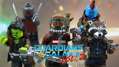 Custom LEGO Guardians of the Galaxy Vol 2: Minifigures (Will HR) Tags:
