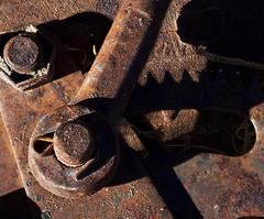 broken (johnsinclair8888) Tags: macromondays broken nikon johndavis d750 105mm sigma rust machine shadow affinityphoto old metal