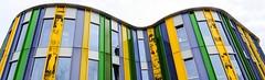 The New School. (Hans Veuger) Tags: nederland thenetherlands amsterdam amsterdamnoord windows gevel facade school building architecture hww nikon b700 coolpix nederlandvandaag unlimitedphotos twop noordrijk braeburnstraat