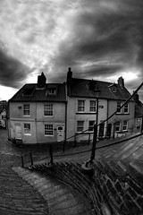 Whitby (Baz 3112) Tags: 500px foranyonewhosinterested streamzoofamily hdr hdrcollection hdrgallery hdrphotography hdrphoto blackandwhite blackwhite perspective building buildings sky skyporn