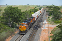 Curtis Hill Containers (joemcmillan118) Tags: oklahoma quinlan bnsf containertrain curtishill