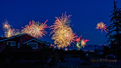 4th of July on Whidbey Island (Eye of G Photography) Tags: 4thofjulyweekend mutinybay northamerica usa washingtonstate whidbeyisland fireworks frontporch