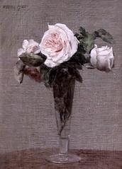 IMG_0155 Henri Fantin Latour. 1836-1904. Paris. Fleurs. Flowers  Louvre. (jean louis mazieres) Tags: peintres peintures painting musée museum museo france paris louvre henrifantinlatour
