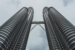 Petronas Towers (pucek) Tags: petronas towers kuala lumpur city architecture sky high