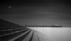 Promenade (paulantony2) Tags: monochrome seafront seascape sea pier blackandwhite lee stop d7100 steps