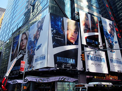 Valerian and the City of a Thousand Planets Billboard Poster 8186 (Brechtbug) Tags: valerian city thousand planets billboard poster times square nyc 2017 french science fiction comics series from 1967 valérian laureline written by pierre christin illustrated jeanclaude mézières film movie directed luc besson new york 07012017