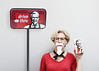 There's a new Colonel in town... (YetAnotherLisa) Tags: fried chicken kfc beard disguise wah self selfie selfportrait fastfood colonel sanders