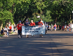 Moms Demand Action For Gun Sense (PPWIII) Tags: grandrapids hollyhock parade july 4th independence day holiday ottawa hills lane stars stripes flags patriot moms demand action gun sense america nra national rifle association