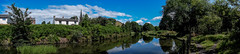 elsecar (krazykel666) Tags: elsecar water church view refelction panarama country trees