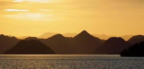Rinca Island Sunset - Komodo NP, Indonesia