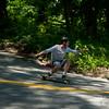Sunday Freeride (feat. Patrick) (davegammon.media) Tags: longboard longboarding skateboard skateboarding freeride turn lean squat skater rider team action sport street road sesh bustin sector9 limeburst protec hawgs