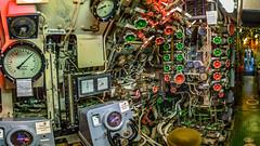 Zentrale in U-Boot (EberhardPhoto aus Hagen) Tags: marinemuseum wilhelmshafen uboot