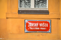 Prague walk (jmarnaud) Tags: czech 2017 prague walk street summer city old building people blue sky mala strana