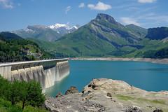 Beaufort (Savoie) : barrage de Roselend (bernarddelefosse) Tags: roselend barrage beaufort savoie rhônealpes