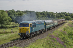 56006 1J63 (DM47744) Tags: class 56 56006 elr eastlancashirerailway diesel gala train trains traction heritage diesels nikon d3100 railroad rails railway railways rail locomotive loco preserved preservation transport summer 2017 track transportation lancashire north west england clag br blue british grid