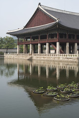 Gyeongbokgung Palace 경복궁 / 景福宮 (Patrick Vierthaler) Tags: 경복궁 景福宮 경회루 慶會樓 reflections reflektionen seoul south korea joseon dynasty grand palace palaces 5 soul südkorea palast paläste dynastie early summer sommer world heritage welterbe