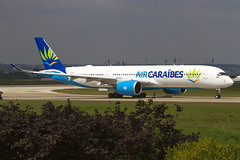 F-HNET, AirbusA350-941, Air Caraïbes (Freek Blokzijl) Tags: airbusa350 a350941 airbus ory parisorly airport departure new aircaraibes newcolours planespotting arena afternoon lineup canon f2870200 summer france