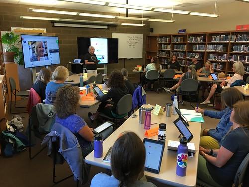 iPad Media Camp Wyoming 2017 by Wesley Fryer, on Flickr