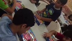 نظم فرع خورفكان ورشة للاطفال بإحضار هدايا وترتيبها وتغليفها وذلك لتوزيعها على الاطفال المرضى بالمستشفى.#دائرة_الخدمات_الاجتماعية #خورفكان (sssdshj) Tags: دائرةالخدماتالاجتماعية خورفكان