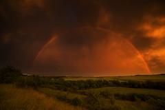 somewhere over the rainbow (Rainer Schund) Tags: somewhere over rainbow nikon natur nature natureexploring naturemasterclass nikond4 unwetter regen regenbogen erfurt thüringen thuringia thunderstorm sturm stormchasing storm sonnenuntergang sunset