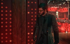 Adam / Deus Ex: Mankind Divided (Den7on) Tags: deus ex mankind divided eidos montreal nixxes software square enix adam jensen prague bokeh lights red agent