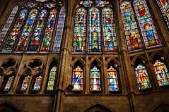 Vidrieras de la Catedral de Leon (enrique1959 -) Tags: vidrieras catedral leon vidrierascatedraldeleon españa europa castillayleon
