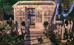 My lovely Greenhouse (nannja.panana) Tags: tmcreation 8f8 jian revival serenitystyle whimsical decor secondlife nannjapanana coffeetime
