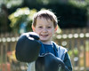 The Boxer - DSCF2018 (s0ulsurfing) Tags: s0ulsurfing 2017 march isle wight william boxer boxing garden boy play imagination fuji xseries xt2