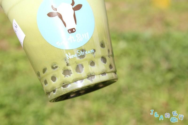 九品川-飲料免費加珍珠,藍莓鮮優酪酸甜爽口!【捷運公館】 @J&A的旅行
