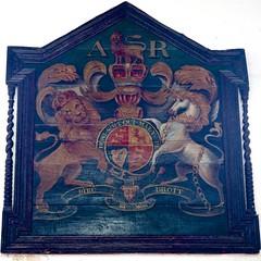 P5072024 (simonrwilkinson) Tags: westsussex bramber church stnicholas royalarms
