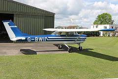 G-BWII (QSY on-route) Tags: gbwii lincoln aero club mid summer fly in sturgate 04062017