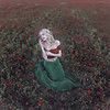 The little Poppy (Jesus Solana Poegraphy) Tags: poppy poppies field fineart fineartphotography beauty blonde lady nature wild red green outdoor