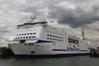 Mont St Michel, Portsmouth Harbour, April 27th 2015