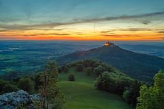 Der Weg (simonpe86) Tags: shadow contrast deutschland schloss tree cut burg burghohenzollern germany sky green hill hohenzollern castle clouds