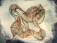 The Structure (clarkcg photography) Tags: weave woodenfiber twisted woven curve architecture build slide sliderssunday