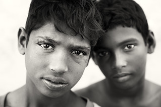 Bangladesh, street kids in Barisal