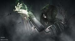 There is Light in the Dark * friends work* (_Adra Braeden_) Tags: necromancer magic magical dark mist tarinfell bento mesh secondlife