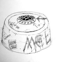 Hatch (Marcos Telias) Tags: illustration drawing dibujo ilustración sketch boceto bosquejo arte artista artist ballpoint bolígrafo pen lápiz fantasy