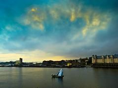 Nubes del norte (Bonsailara1) Tags: bonsailara1 oslo noruega norway operahouse ópera fiord modernarchitecture arquitecturamoderna marmol marble white blue blanco azul nubes clouds