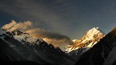 Aoraki/Mount Cook. NZ (Bernard Spragg) Tags: aorakimountcook nz mountains newzealand landscape nature lumixfz1000 southernalpes yourbestoftoday