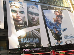 Valerian and the City of a Thousand Planets Billboard Poster 7956 (Brechtbug) Tags: valerian city thousand planets billboard poster times square nyc 2017 french science fiction comics series from 1967 valérian laureline written by pierre christin illustrated jeanclaude mézières film movie directed luc besson new york 06262017
