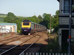 43155 Liskeard (2) (Marky7890) Tags: gwr 43155 class43 hst 1a98 liskeard railway cornwall cornishmainline train